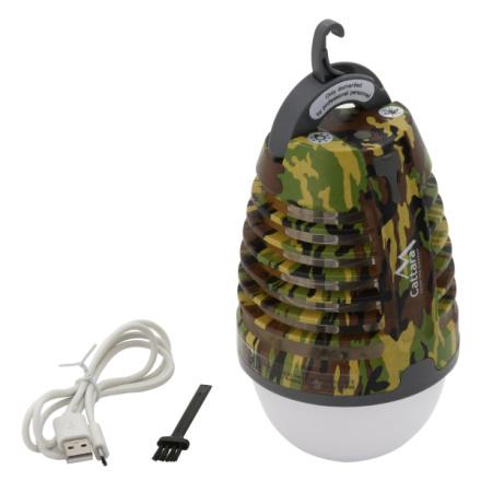 Svítilna PEAR ARMY nabíjecí + lapač hmyzu, 13179