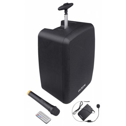 DEXON Řečnický systém s ručním a náhlavním bezdrátovým mikrofonem WA 410RC, 21_956