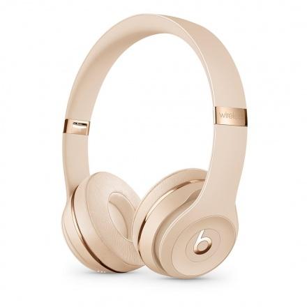 Apple Beats Solo3 WL Headphones - Satin Gold, MX462EE/A
