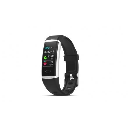 EVOLVEO FitBand B5, GPS fitness náramek s plaváním, měřením krevního tlaku a tepové frekvence, FTD-B5