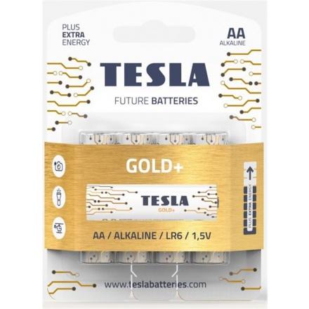 TESLA - baterie AA GOLD+, 4 ks, LR06, 1099137206
