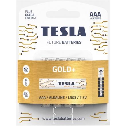 TESLA - baterie AAA GOLD+, 4ks, LR03, 1099137207