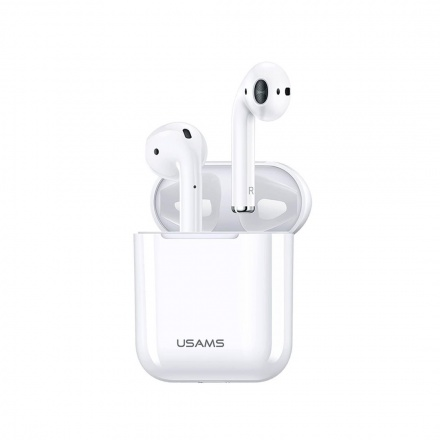 USAMS LP Dual Bluetooth Stereo Headset White, 6958444966502