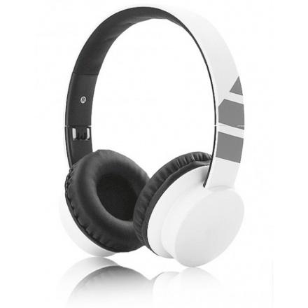 Aligator sluchátka drátové AH03,dálkové ovládání, bílá, AH03WT