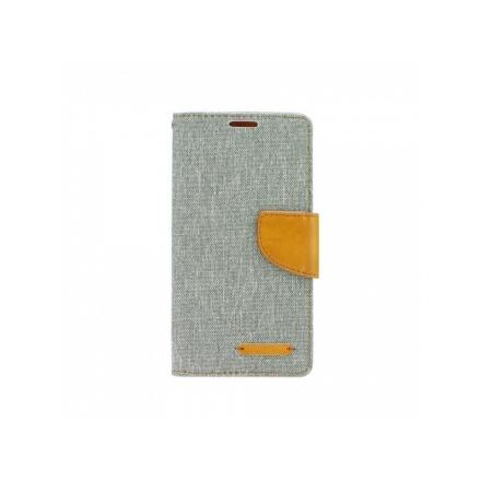 Pouzdro Telone Fancy Huawei Y6 II (Y6-2) šedá-hnědá