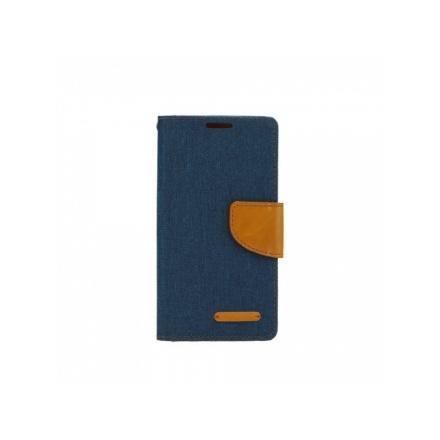 POUZDRO Tel1 FANCY Huawei P20 Lite tmavě modrá-hnědá