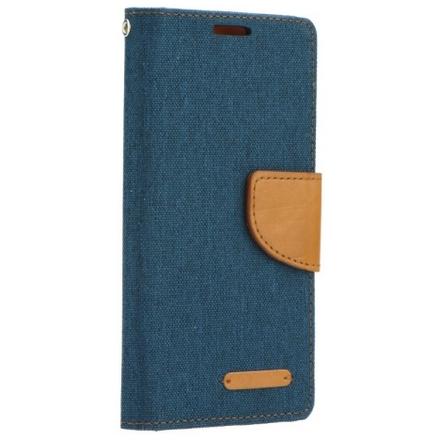 POUZDRO Tel1 FANCY Samsung Galaxy J5 tmavě modrá-hnědá