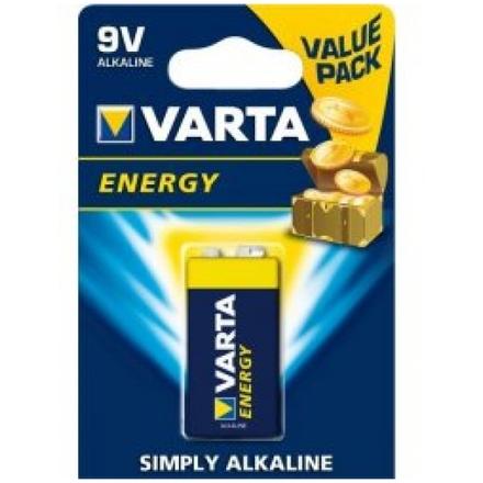 Baterie VARTA Alkalická 9V typ 6LR 61 (4122) 1ks