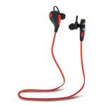 Sluchátka FOREVER BSH-100 Bluetooth Sport Music stereo Bass červeno-černá
