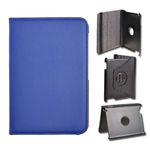 SCcom POUZDRO TABLET BOOK SAMSUNG P3200 GALAXY TAB 7.0 3 otáčení modrá 13304