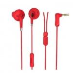 Sluchátka USAMS  EP-14 (3,5mm) stereo červená 14041