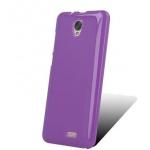 Pouzdro MyPhone TPU silikonové MyPhone Fun 18X9 (fialová)