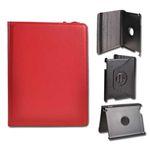 SCcom POUZDRO TABLET BOOK SAMSUNG P3100 GALAXY tab 7.0 TAB 2 s možností otáčení červená 25030
