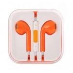 Handsfree/sluchátka univerzální MEGA BASS, oranžová HQ 29481