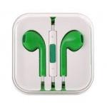 Handsfree/sluchátka univerzální MEGA BASS, zelená HQ 29482