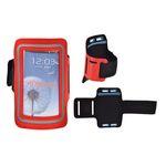 JEKOD SPORTOVNÍ POUZDRO NA RUKU SLIM pro iPHONE 3G/4G/i9000 červená 31068