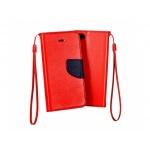 Pouzdro Telone Fancy Nokia 7 Plus červená-modrá