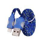 Tel1 SVÍTÍCÍ DATOVÝ KABEL HC-CC32 PRO iPHONE 5 modrá