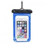 Pouzdro Tel1 voděodolné s plastovým uzávěrem modrá 37273964