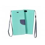 Pouzdro Telone Fancy Huawei Ascend Y5 mátová-modrá