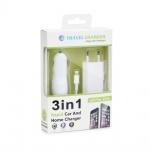 Nabíječka 3v1 pro Apple iPhone 5/6/6/7/8/X Plus (Nabíječka do auta, síťový adaptér, kabel USB) 37913036
