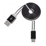 Tel1 KABEL PC SLIM (kovový hrot) (MICRO USB TYP C) černá