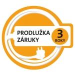 Prodloužená záruka 3 roky, (po registraci na www.eta.cz/prodluzka)
