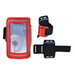 JEKOD SPORTOVNÍ POUZDRO NA RUKU SLIM IPHONE 6 PLUS/Samsung N910 červená 40001