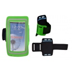 JEKOD SPORTOVNÍ POUZDRO NA RUKU SLIM IPHONE 6 PLUS/SAM N910 zelená 40004