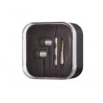 Sluchátka METALLIC stříbrná 40875