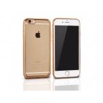 "CLEAR CASE IPHONE 7 (4,7"") zlatá"