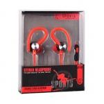 Sluchátka Sport JY-A1 červená 42286