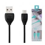 REMAX Kabel USB Lesu RC-050i lighting IPhone 5/6/7 černá 42350