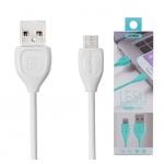 REMAX Kabel USB Lesu RC-050i lighting IPhone 5/6/7 bílá 42351