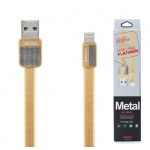 REMAX Kabel USB Platinum RC-044i lighting Iphone 5/6/7 zlatá 42359