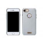 "Pouzdro REMAX Carbon Iphone 7 (4,7"") stříbrná 42851"
