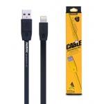 REMAX Kabel USB Full Speed RC-001i Lightning Iphone 5/6/7 1 metr černá 43226