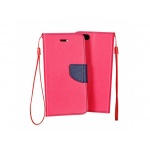 Pouzdro Telone Fancy Xiaomi Redmi Note 4 růžová-modrá