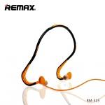 REMAX Sluchátka Sport RM-S15 černá-oranžová