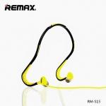 REMAX Sluchátka Sport RM-S15 černá-žlutá