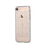 Pouzdro Crystal (Swarovski) Baroque iPhone 7 silver