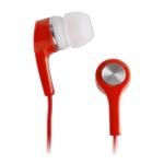 sluchátka univerzální MP3/MP4 červená 445780