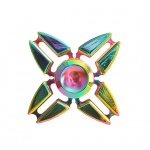 FIDGET SPINNER RAINBOW METALLIC 4 ramena 45269