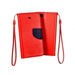 Pouzdro Telone Fancy Xiaomi Redmi 4X červená-modrá