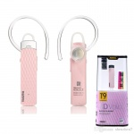 REMAX Bluetooth Headset - RB-T9 (multi-point EDR) růžová 48000543