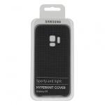 Pouzdro originál Samsung S9 Galaxy G960 Hyperknit Cover (ef-gg960fje) šedá