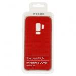 Pouzdro originál Samsung S9 Plus Galaxy G965 Hyperknit Cover (ef-gg965fre) červená