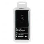 Pouzdro originál Samsung S9 Plus Galaxy G965 Clear View Cover (ef-zg965cbe) černá