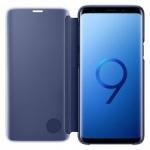 Pouzdro originál Samsung S9 Galaxy G960 Clear View Cover (ef-zg960cle) modrá