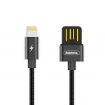 REMAX USB datový Kabel Drak RC-080i iPhone 5/SE/6/6S/7/8/X Lightning černá